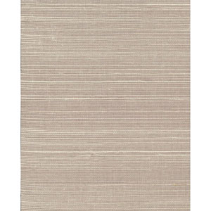 Plain Grass Gray and Beige Wallpaper