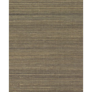 Grasscloth II Multigrass Brown Wallpaper