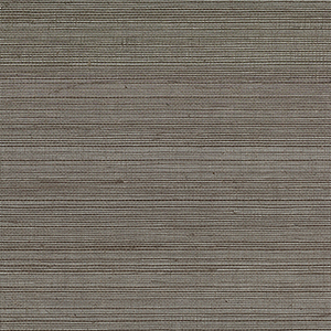 Metallic Grass Gray Wallpaper