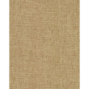 Grasscloth II Interlocking Weave Sisal Brown Wallpaper
