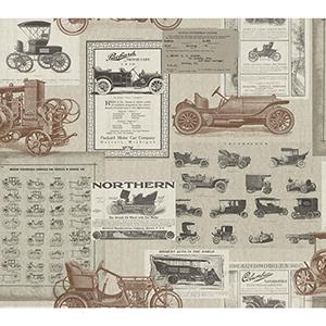 Snapshots Sepia Wallpaper