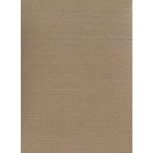 Ronald Redding Designer Resource Light Taupe Grasscloth Sisal Twill Wallpaper