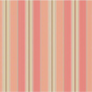 Waverly Classics Peach, Coral, Taupe, Beige and Khaki Wallpaper