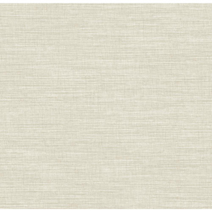Waverly Classics Oyster Gray and Pale Taupe Wallpaper