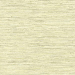 Nautical Living Pale Kiwi Green Horizontal Grass cloth Wallpaper