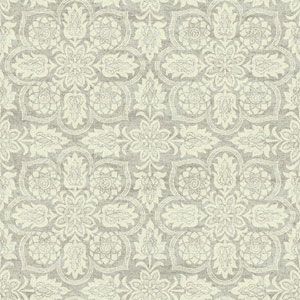 Waverly Classics I Curators Gem Removable Brown and Beige Wallpaper