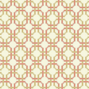 Waverly Classics I Groovy Grill Removable Brown Wallpaper