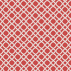 Waverly Classics I Kent Crossing Removable Red Wallpaper