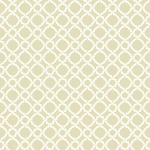Waverly Classics I Kent Crossing Removable Beige Wallpaper