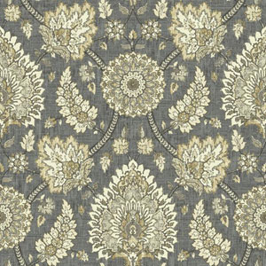 Waverly Classics I Clifton Hall Removable Black Wallpaper