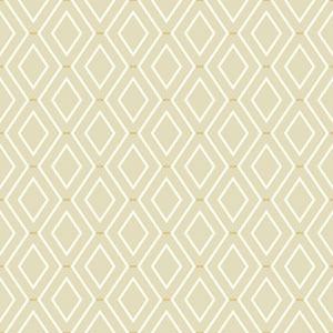Waverly Classics I Diamond Duo Removable Beige Wallpaper