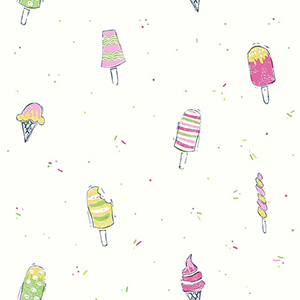 Ice Cream Pink Wallpaper