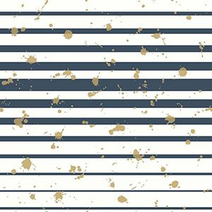 Splatter Stripe Blue Wallpaper