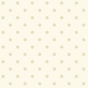 Waverly Kids Whtie and Pearl Circle Sidewall Wallpaper