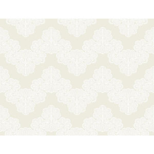 Waverly Kids Pearl and White Airwaves Wallpaper