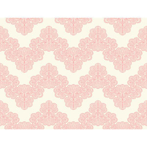 Waverly Kids White and Pink Airwaves Wallpaper