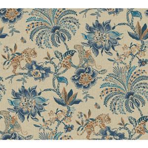 Williamsburg II Multicolor Floral Wallpaper