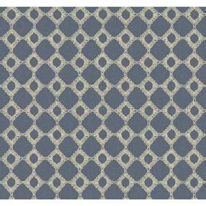 Williamsburg II Blue Wallpaper