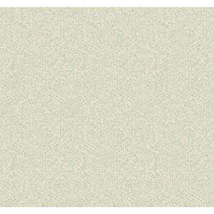 Williamsburg II Gray Wallpaper
