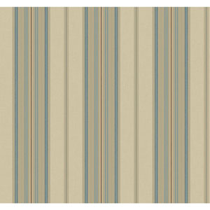 Williamsburg II Multicolor Stripe Wallpaper