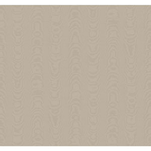 Williamsburg Grey Palace Moire Wallpaper