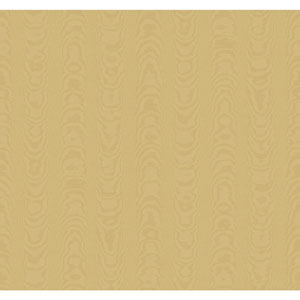 Williamsburg Tan Palace Moire Wallpaper