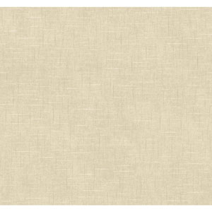 Williamsburg Grey and Cream Taunton Texture Wallpaper