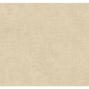 Williamsburg Taupe and Tan Taunton Texture Wallpaper