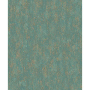 Mixed Metals Shimmering Patina Wallpaper
