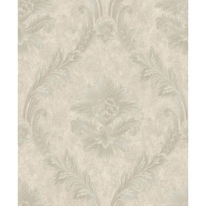 Mixed Metals Acanthus Fan Wallpaper