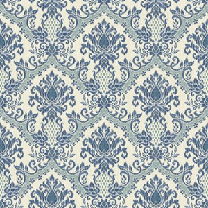 Waverly Small Prints Bedazzled Blue Wallpaper