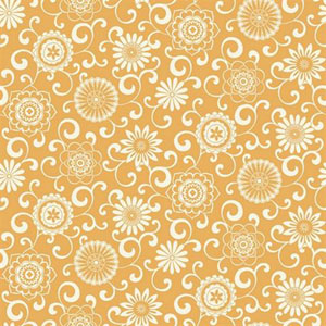 Waverly Small Prints Pom Pom Play Persimmon Orange and White Wallpaper