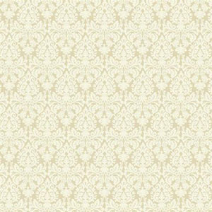 Waverly Small Prints Essence Ecru and Cream Wallpaper