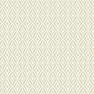 Waverly Small Prints Centro Soft Grey and White Wallpaper