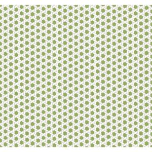 Waverly Global Chic Green and White Shoji Wallpaper