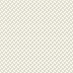 Carey Lind Watercolors White and Grey Basketweave Wallpaper