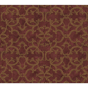 Inspired by Color Red and Gold Metallic Wallpaper