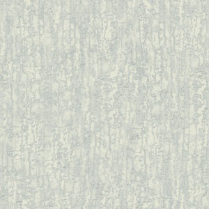 Glam Silver Blue Grey Combed Stucco Wallpaper