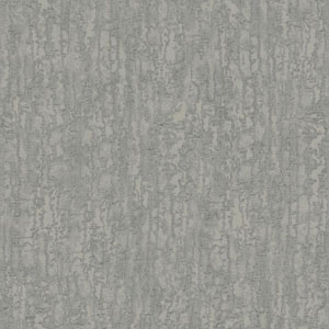 Glam Pewter and Light Grey Combed Stucco Wallpaper