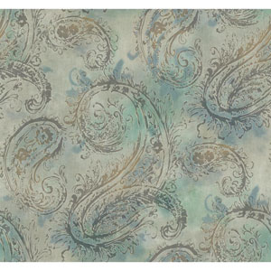 Voyage Paisley Wallpaper