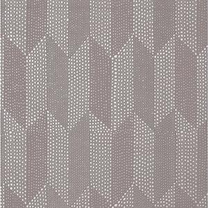 Mid Century Dark Oyster Metallic Wallpaper