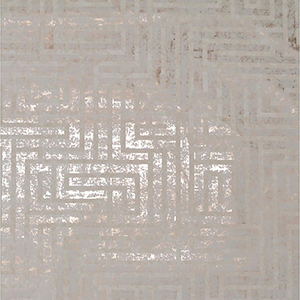 Mid Century Glint and Cream Metallic Wallpaper