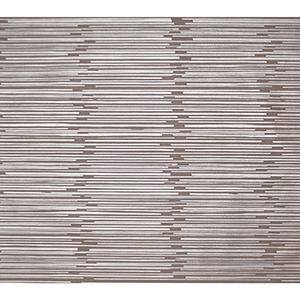 Mid Century Taupe Metallic Wallpaper