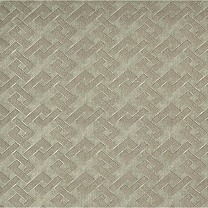 Mid Century Gray and Brown Geometric Wallpaper