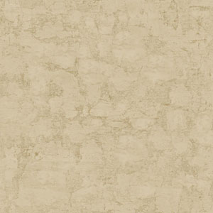 Welcome Home Bisque Cream and Taupe Plaster Texture Wallpaper