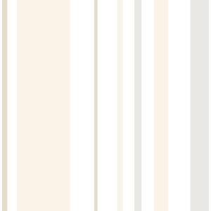 Tan Stripes Peel and Stick Wallpaper