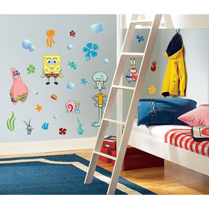 Spongebob Squarepants Peel and Stick Wall Decals