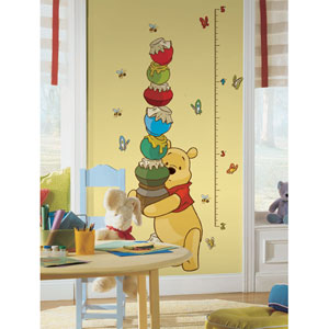 Winnie the Pooh - Pooh Peel and Stick Growth Chart