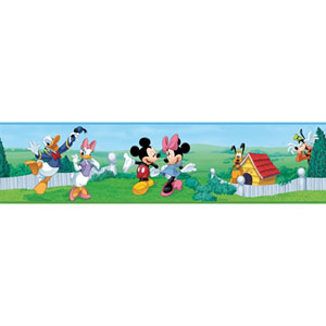 Mickey and Friends Peel and Stick Border