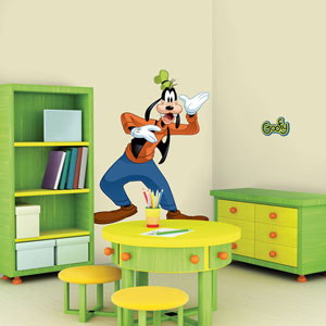 Mickey and Friends - Goofy Peel and Stick Giant Wall Decal